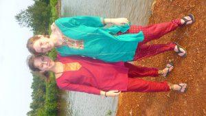 Henriette und ich : )