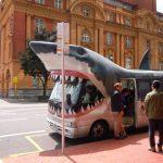 Irgendwie lustig was man so sieht waehrend amn auf den Bus wartet!