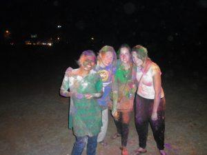 ergebnisse unserer eigenen Holi-Farbschlacht
